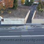 Rendered Wall Heath Landscaping Tasmania