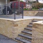 Retaining Wall and Steps Heath Landscaping Tasmania