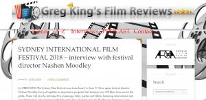 Greg King Film Reviews Screen Capture FilmReviews.net.au