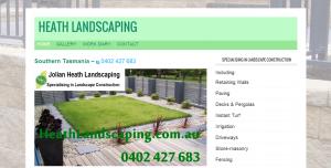 Heath Landscaping TimHeath.com.au Web Design