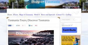 Tas Tours TimHeath.com.au Web Design