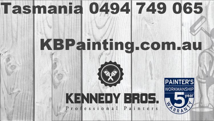 Kennedy Brothers Professional Painting Hobart Tasmania